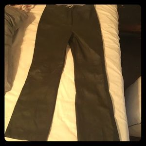 Newport News Easy Styles Leather pants